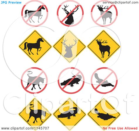 royalty free rf road clipart illustrations vector wildlife clip art in black white clipart panda free