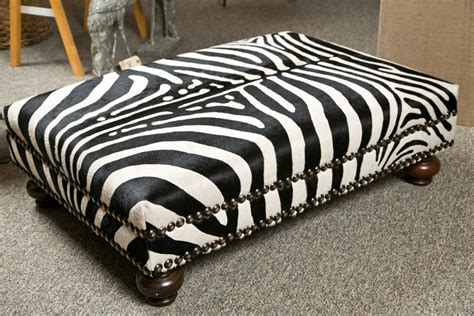 brown zebra ottoman authentic zebra ottoman buying zebra ottoman ottomans