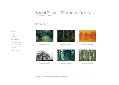 themes wordpress artist wordpress for artists themes