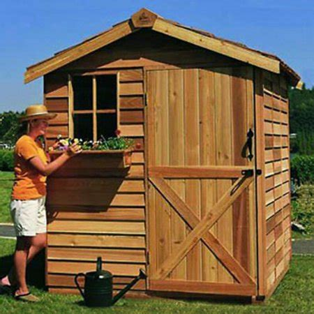 8×12 Wood Shed