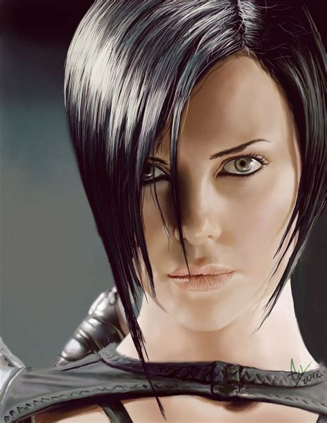 aeon flux hairstyle charlize theron aeon flux haircut www imgkid com the