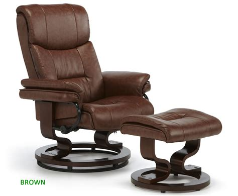 faux leather recliner chair spencer chestnut brown faux leather recliner chair just