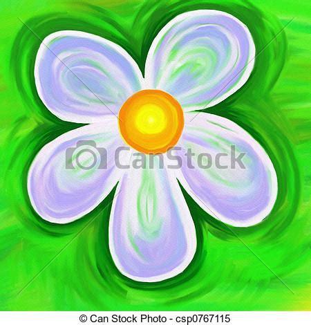 fiore dipinto dipinto fiore tela fiore semplice textured dipinto