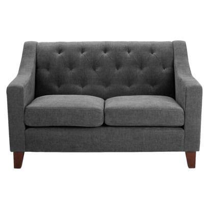 tufted loveseat gray tufted upholstered loveseat gray