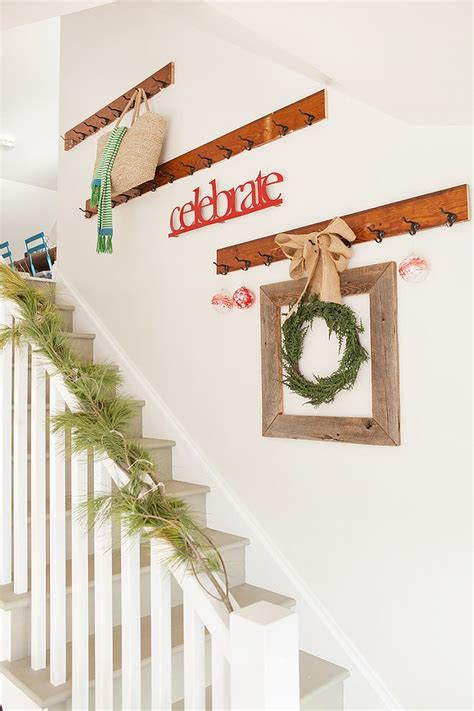stairwell decorating ideas 23 gorgeous christmas staircase decorating ideas