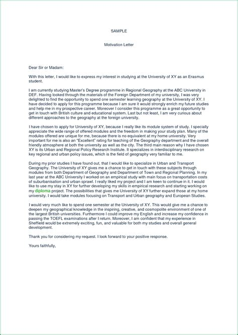universita lettere motivation letter exle cv voorbeeld 2018