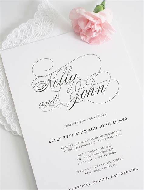 Best 25  Elegant invitations ideas on Pinterest   Wedding