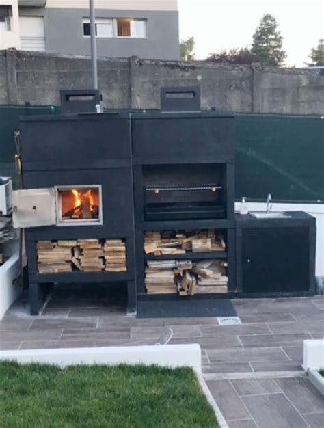 Barbecue En Ligne by My Barbecue Barbecue Ligne Moderne Avec Four Et Evier Av100m