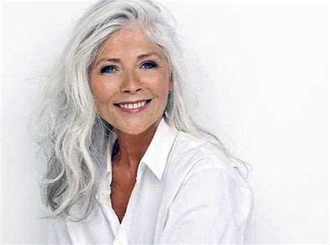 picture of old lady with long hair long hair styles for older women long hairstyles 2016 2017