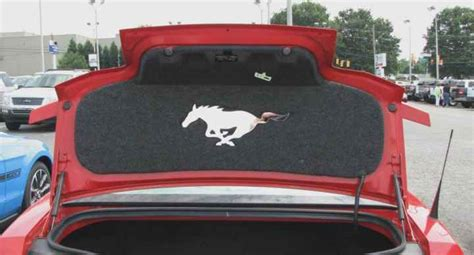 Grand Mat Design by Aftermarket Trunk Lid Mat Accessory For 2010 2011 2012