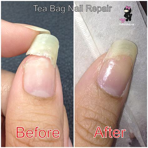 Nail Repair by Tea Bag Nail Repair The Crafty