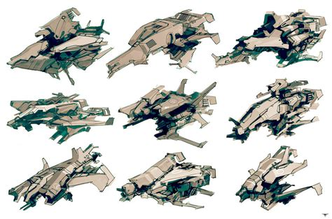 battlecruiser doodle ship sketches 02 by talros on deviantart