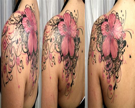 flower tattoo designs on arm flower tattoos