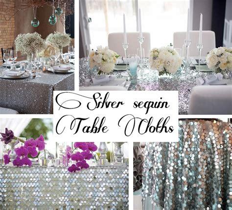 sacramento bay area sequin tablecloth linen rental ideas