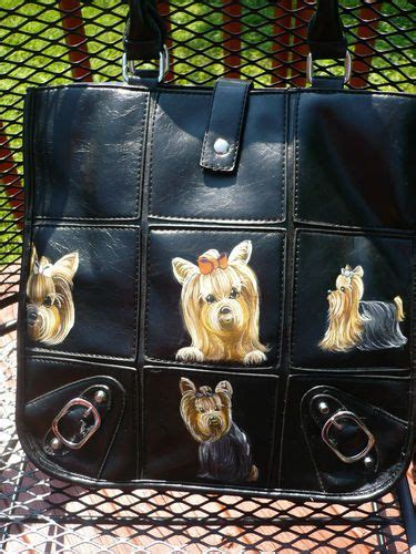 yorkies on ebay 1000 images about yorkie handbag on