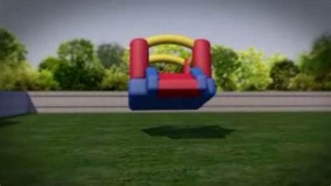here s how that bounce house flew away hlntv