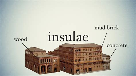 Three Story Houses by Insulae Ancient Slums Youtube