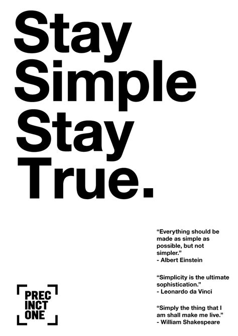 Stay Simple graphic design principles jayce o yesta