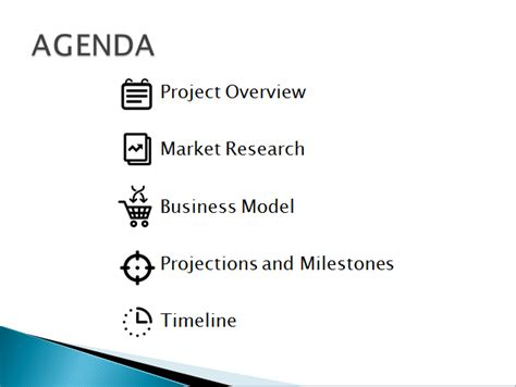 The Agenda Slide A Short Powerpoint Design Lesson Powerpoint Agenda Slide