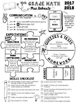 doodle syllabus template  editable  infographics