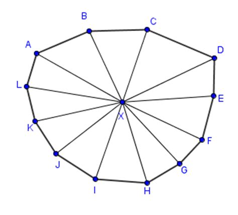 Dodecagon Interior Angles by Dodecagon Area Of A Dodecagon Mathcaptain