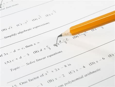 Past exam papers: a useful study tool | Learning Potential A-test Paper