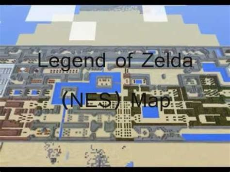 minecraft legend of zelda map youtube minecraft legend of zelda map nes youtube