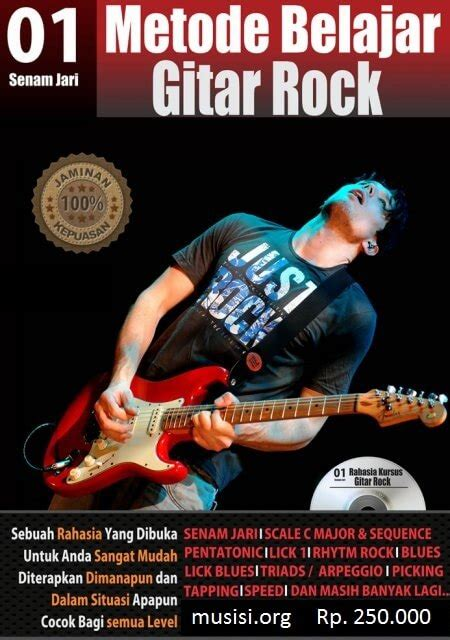 buku tutorial belajar gitar buku belajar gitar dilengkapi dengan cd musisi org