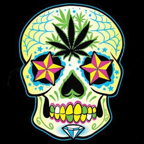 skull pot leaf tattoo designs 27 best pantera pot leaf tattoos images on