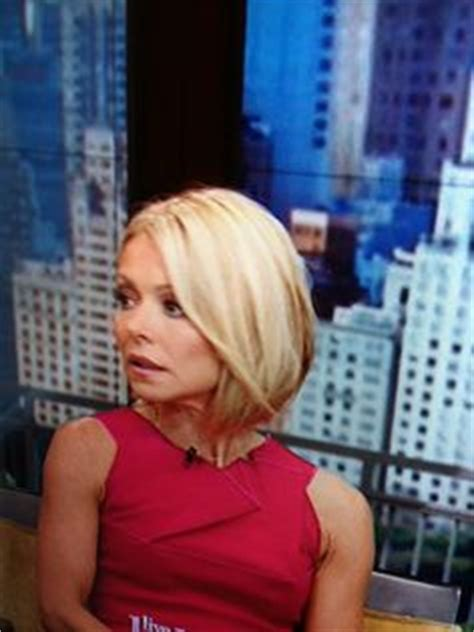 kelly ripa bob wave hair pinterest kelly ripa bobs 1000 images about final 2014 hair cut on pinterest