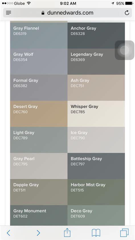 dunn edwards gray shades for the nursery home nursery