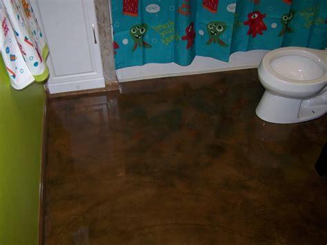 Bathroom Floor Epoxy Paint Re Epoxy Bathroom Floor Concretelocator
