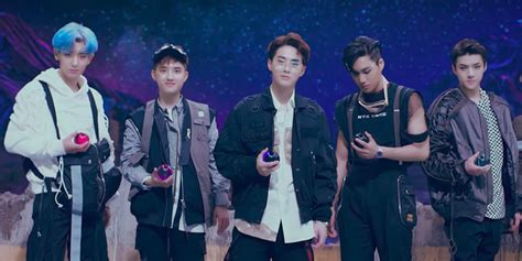 exo power k pop group exo go to war with robots in power music