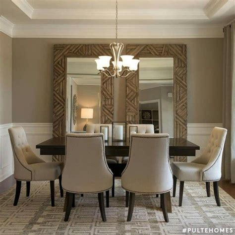 25 best ideas about dining room mirrors on