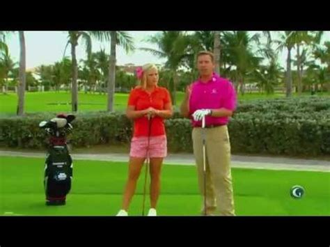michael breed swing plane annika full swing drill doovi