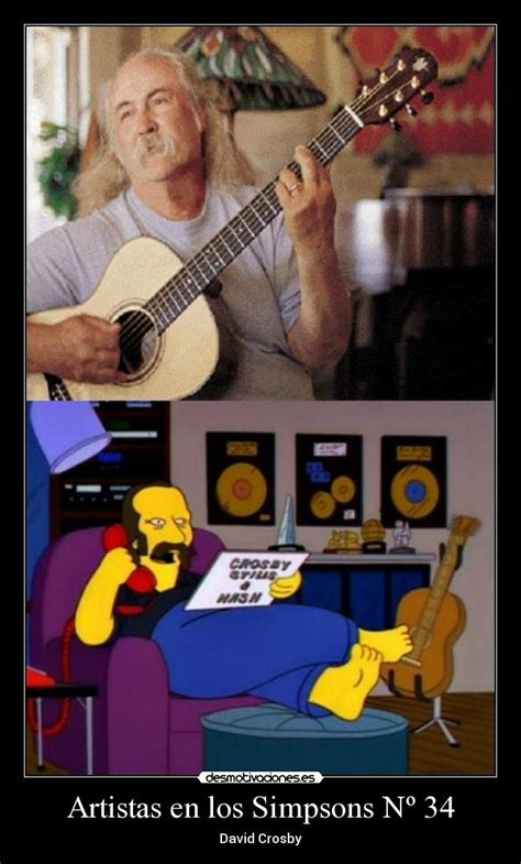 david crosby simpsons im 225 genes y carteles de simpsons pag 621 desmotivaciones
