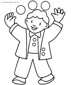 Coloring pages and sheets can be found in the family people jobs color
