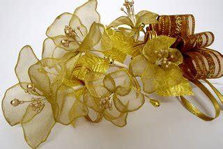 tutorial bunga telur kain organza bunga dulang organza gold a homemaker s diary