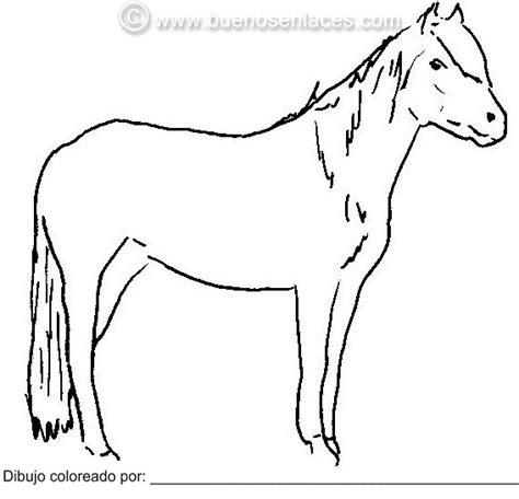 dibujos para colorear de caballos dibujos para colorear os dejamos a este caballo con un
