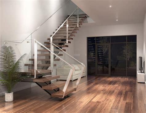 Home Design 3d Escalier Escalier Moderne Illustration 3d Photor 233 Aliste Montr 233 Al