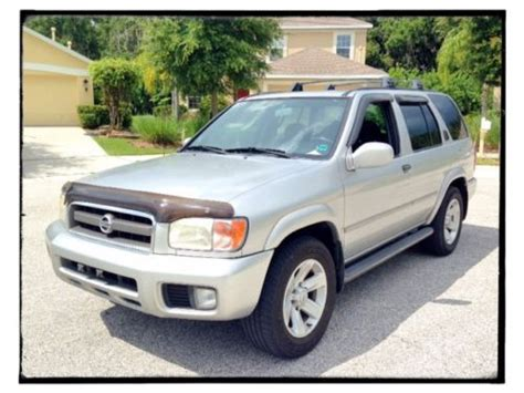 2003 Nissan Pathfinder Le by Sell Used 2003 Nissan Pathfinder Le Loaded No Reserve Fl