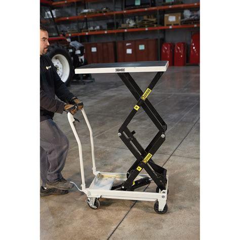 1000 lb capacity hydraulic table cart strongway 2 speed hydraulic rapid lift xt table cart