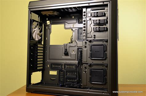 Nzxt Switch 810 nzxt switch 810 gunmetal hybrid tower review custom pc review