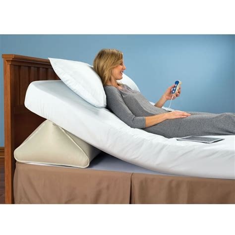 Mattress Wedge King by The Remote Controlled Adjustable Incline Mattress Wedge