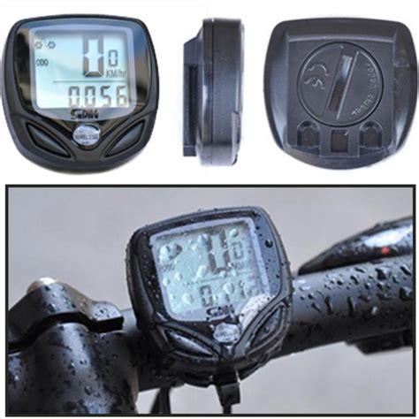 Speedo Meter Sepeda speedometer sepeda wireless display lcd sd 548c black jakartanotebook