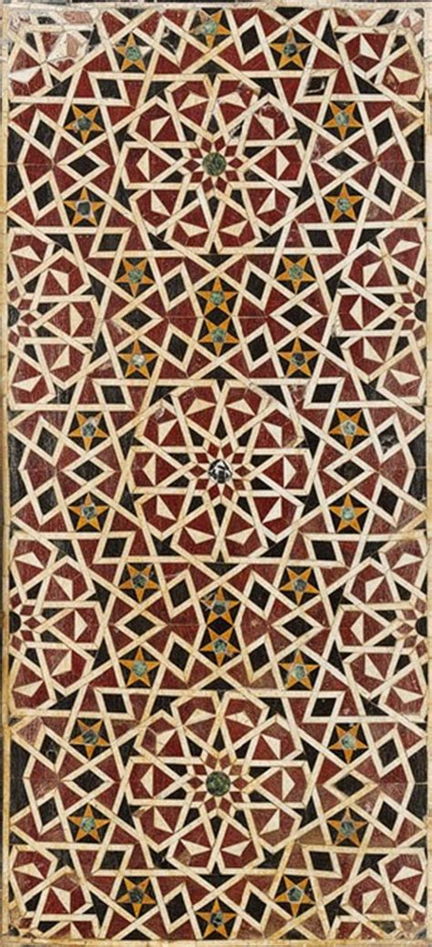 Islamic Artworks 38 al hamra contemporary projects geometric patterns in