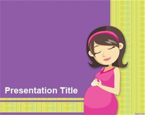 ppt templates for pregnancy free download natural childbirth powerpoint template