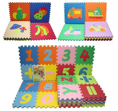 Karpet Lantai Puzzle jual produk kebutuhan and playmate for baby evamats karpet puzzle purple murah