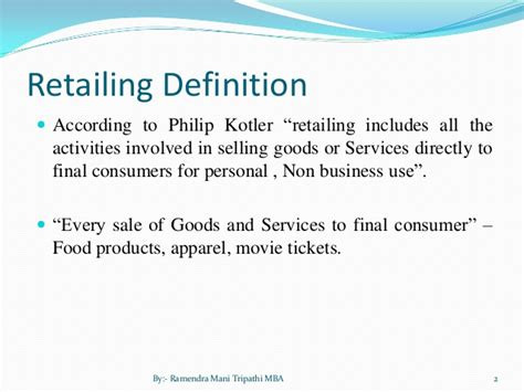 indian retail ppt
