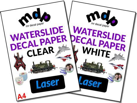 waterslide tattoo paper uk water slide decal paper a4 laser waterslide transfer paper
